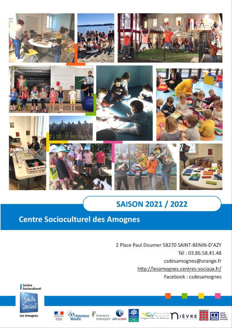 Read more about the article Plaquette d'activités saison 2021/2022